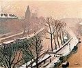 Quai des Grands Augustins, Fog and Snow Albert Marquet (1938).jpg