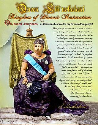 Hawaiian sovereignty movement - Native Hawaiians, activists and supporters commemorate January 17 annually.
