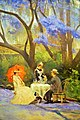 "Queensland Art Gallery - Joy of Museums - ""Under the Jacaranda"" by R Godfrey Rivers 2.jpg"