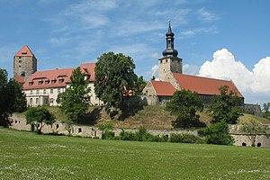 Saxe-Weissenfels - Image: Querfurt castle