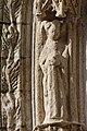 Quimper - Cathédrale Saint-Corentin - Statue des Voussures du portail - PA00090326 - 0017.jpg