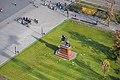 Rákóczi Ferenc lovas szobra légi felvételen.jpg