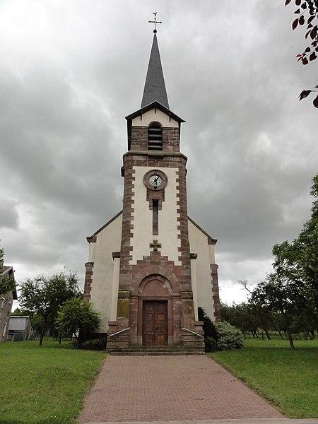 Réchicourt-la-Petite (M-et-M) église