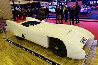 Lotus Mark VIII - A Lotus Mark VIII - 1955