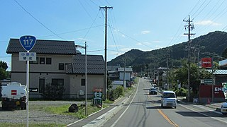 Japan National Route 117