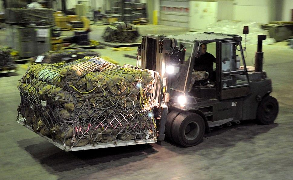 RAF Delivers Aid to Flood Hit Pakistan MOD 45151688