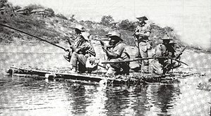 Rhodesian African Rifles - RAR troops campaigning in Burma during World War II.