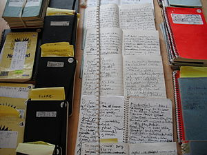 Roger Deakin - Notebooks from the Roger Deakin Archive at the University of East Anglia