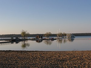 Wasagaming, Manitoba - Clear Lake Main Beach