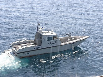 Royal Oman Police - A patrol craft of the ROP