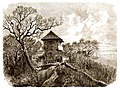 R Aßmus - Das Wieland-Häuschen bei Tübingen Holzschnitt 1864 Inv2699 (SW249).jpg