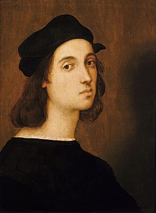 Raffaello, Autoritratto (1506, Firenze, Uffizi)