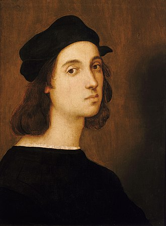 Self-portrait - Raphael, c. 1517–1518, Uffizi Gallery