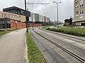 Rails Tramway IdF Ligne 6 Avenue Morane Saulnier - Vélizy-Villacoublay (FR78) - 2021-01-03 - 2.jpg