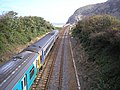 Railway near Penmaen Bach - geograph.org.uk - 232859.jpg