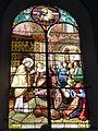 Raismes (Nord, Fr) Église Saint-Nicolas, vitrail 12.JPG