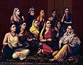 Raja Ravi Varma, Galaxy of Musicians.jpg