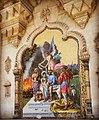 Raja Ravi Varma Painting in Laxmi Vilas Palace.jpg