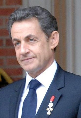 French presidential election, 2012 - Nicolas Sarkozy