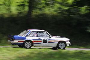 Rally Bohemia 2012 (historic show, SS28 Sychrov) - Opel Ascona 400 04.JPG