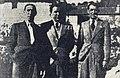 Rallye Monte Carlo 1939, de G. à D.Marcel Contet, Jean Trévoux et Joseph Paul, tous co-vainqueurs.jpg