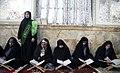 Ramadan 1439 AH, Qur'an reading at Imamzadeh Abdullah Shrine, Gorgan - 20 May 2018 12.jpg