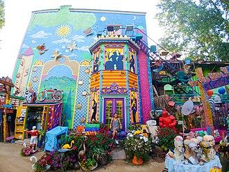 Randyland - Image: Randyland Courtyard
