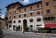 La sede dell'amministrazione provinciale