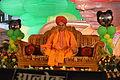 Ravi Shankar Sharma - Evening Prayers - Rawatpura Sarkar Ashram - Chitrakoot - Satna 2014-07-05 6701.JPG