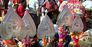 Mandi Shivaratri Fair - Insignia of deities