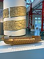 Reconstructed model of a Roman bireme in the Museum of Ancient Seafaring, Mainz, Germany (48987727953).jpg