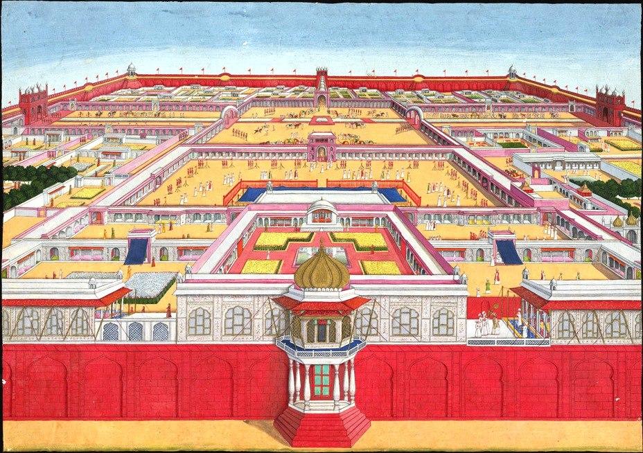 Red Fort Delhi 1785