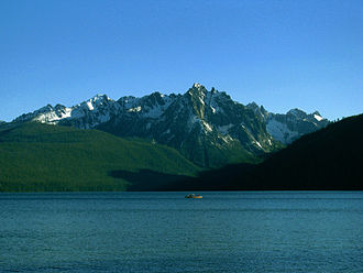 Idaho - Redfish Lake in central Idaho