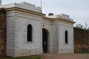 Burra, South Australia - Redruth Gaol, used in the film ''Breaker Morant''