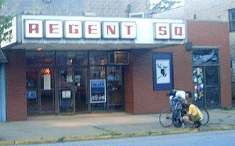 Regent Square (Pittsburgh) - The Regent Square Theatre on Braddock Avenue