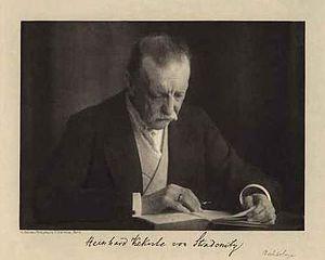 Reinhard Kekulé von Stradonitz - Reinhard Kekulé von Stradonitz.