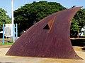Relógio Solar em Morro Agudo,construído em comemoração dos 500 anos do Brasil. - panoramio.jpg