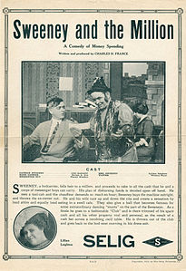 Release flier for SWEENEY AND THE MILLION, 1913.jpg