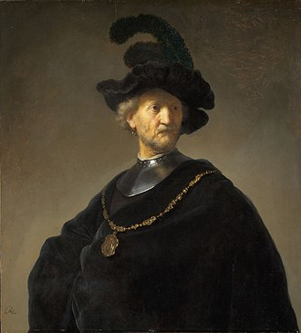 Old Man with a Gold Chain - Image: Rembrandt Harmensz. van Rijn Old Man with a Gold Chain Google Art Project