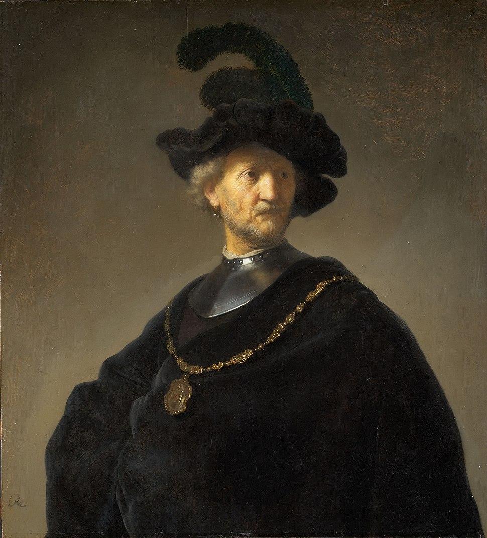 Rembrandt Harmensz. van Rijn - Old Man with a Gold Chain - Google Art Project
