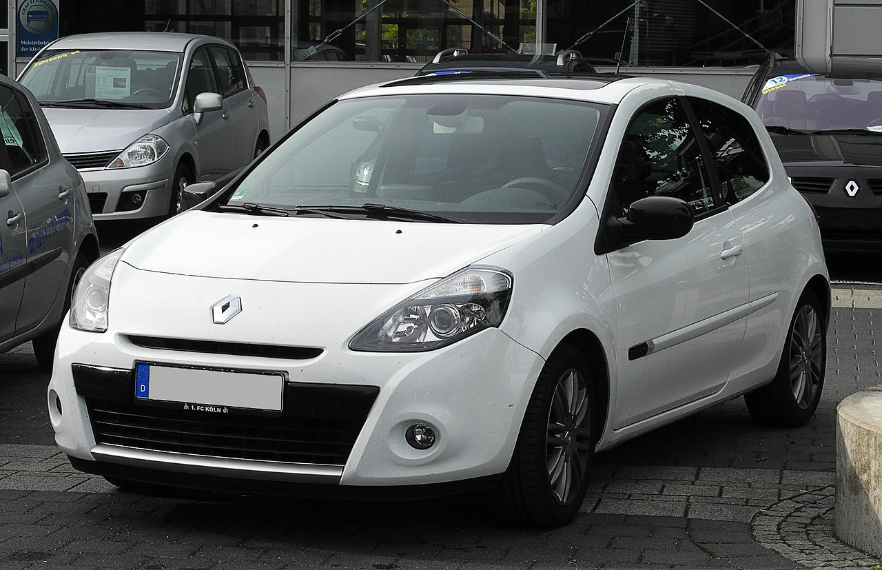file renault clio 20th iii facelift frontansicht 12 juni 2011 d wikimedia. Black Bedroom Furniture Sets. Home Design Ideas