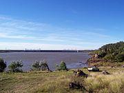 Represa de Salto Grande.