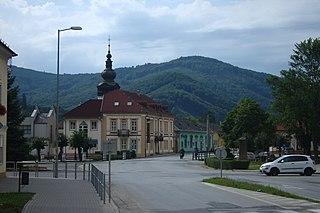 Revúca Town in Slovakia