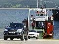 Reversing onto the Lough Swilly Ferry, Rathmullan (geograph 5062553).jpg