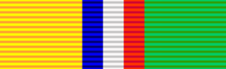 Medalje voor de Anglo-Boere Oorlog - Image: Ribbon SAR & OFS War Medal (OFS)