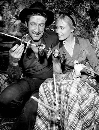 Have Gun – Will Travel - Richard Boone and Christine White in a 1958 episode