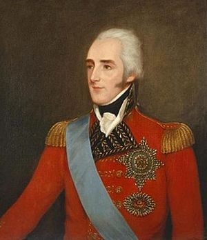 Richard Wellesley, 1st Marquess Wellesley - Wellesley in his red-coated officer's uniform.