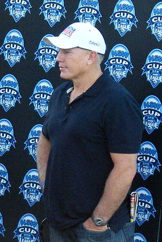 Rick Stone - Stone at a NSW Cup game in 2011