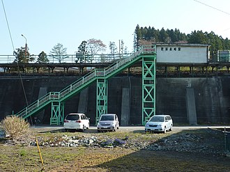 Rikuzen-Akasaki Station - Rikuzen-Akasaki Station in May 2010