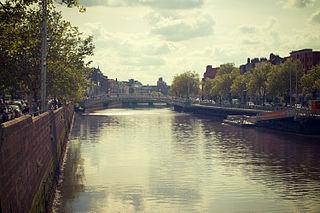 River Liffey Principal river of Dublin, Ireland, rising in Co. Wicklow